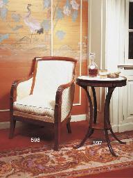 A Restauration mahogany berger