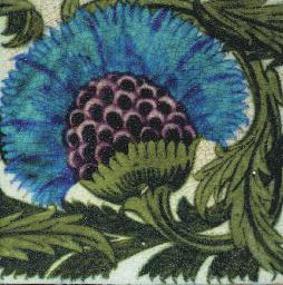 A Cornflower Tile