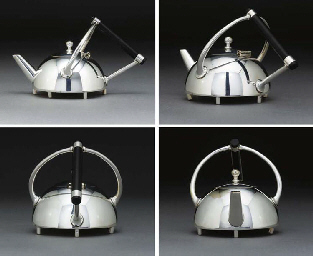 An Electroplated Teapot