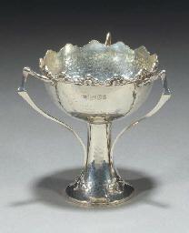 A Silver Pedestal Bowl