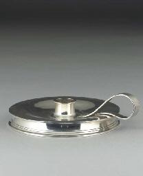 A Silver Chamberstick