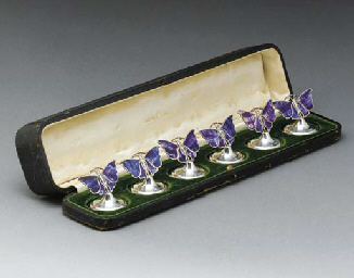 A Boxed Set of Silver and Stai