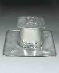 A Tudric Pewter Inkwell