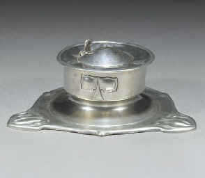 A Pewter Inkwell