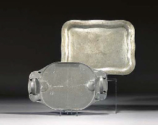 A Tudric Pewter Tray