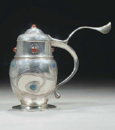 A Liberty and Co. Silver, Enam