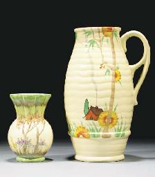 A Bamboo Single-Handled Vase S