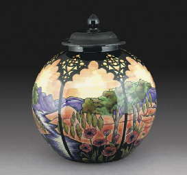 A River of Life Vase and Cover