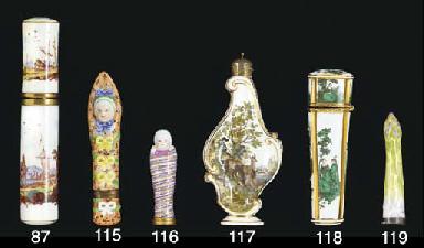 A German porcelain gilt-metal