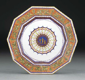 A Sevres (hard paste) Royal de