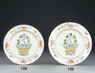 A Meissen chinoiserie dish