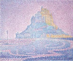 Mont Saint-Michel. Brume et so