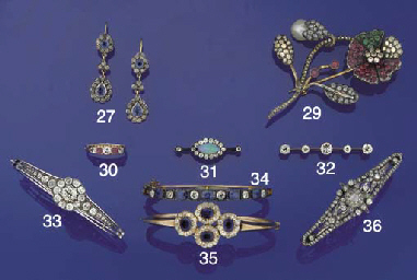 A late Victorian diamond and s