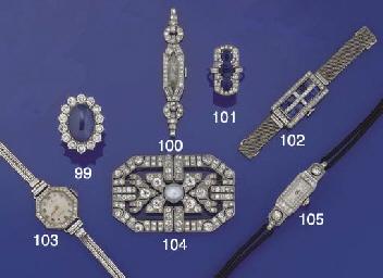 A lady's Rolex diamond wristwa