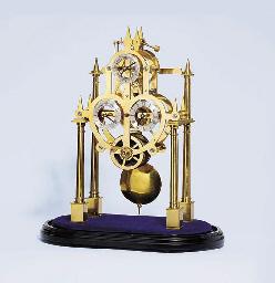 A modern English brass and ebo