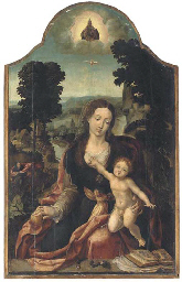 The Virgin and Child in an ext