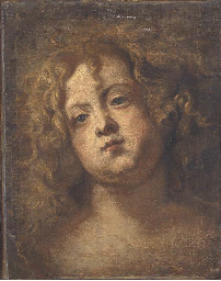 The head of a youth