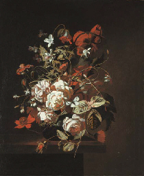 Jasmine, roses, poppies and ot