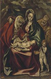 The Holy Family with Saint Ann