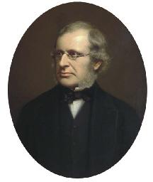 Portrait of a gentleman, quart
