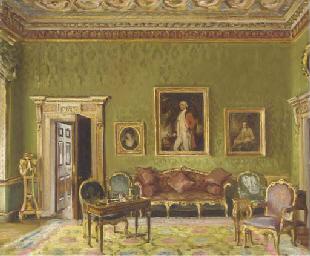 Study of a drawing-room interi