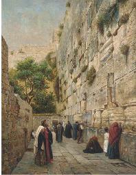 The weeping wall, Jerusalem