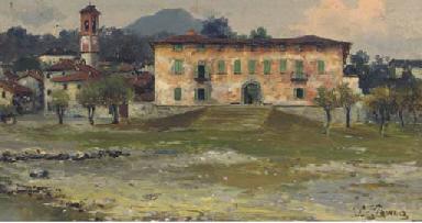 The villa at Cerro