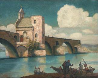 Le Pont St. Benezet, Avignon