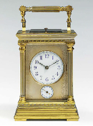 A French parcel-silvered brass