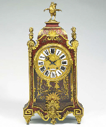 A French large red boulle and