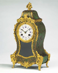 A French gilt-metal mounted gr