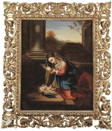 THE MADONNA AND CHILD, AFTER F