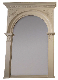 A VICTORIAN WHITE-PAINTED RECT