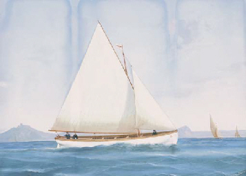 SAILING VESSELS IN THE BAY OF