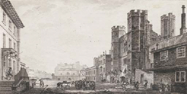 ST. JAMES'S PALACE AND CLEVELA