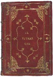 PETRARCA, Francesco (1304-74). [ Canzoniere .] Il Petrarcha con...