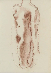 Female nude torso