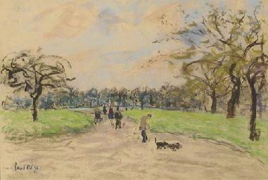 Regent's Park in Autumn; and C