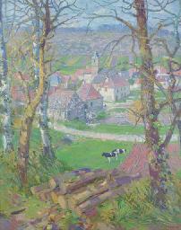 Early Spring, Dordogne, France