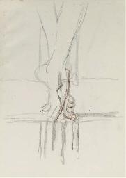 Crucifixion foot study