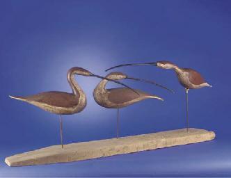 Three Curlews