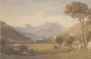 Harvesters in a highland lands
