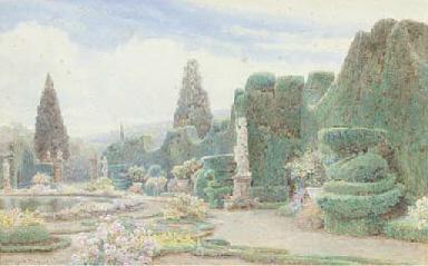 The Parterre, Villa Garzoni