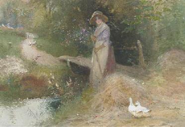 Feeding the ducks; and Gatheri