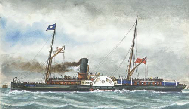 London and Ramsgate steamer Ho