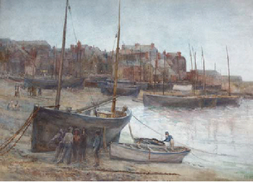 The harbour at St Ives, Cornwa