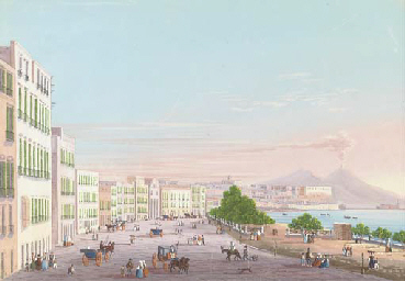 Riviera di Chiaia (illustrated