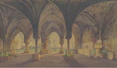 The cloisters at Ravello (illu