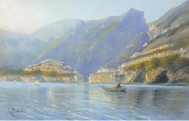On the Amalfi coast
