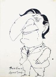 Cartoon of David Emals